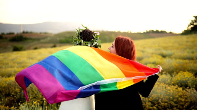 celebrating homosexual marriage - married stock videos & royalty-free footage