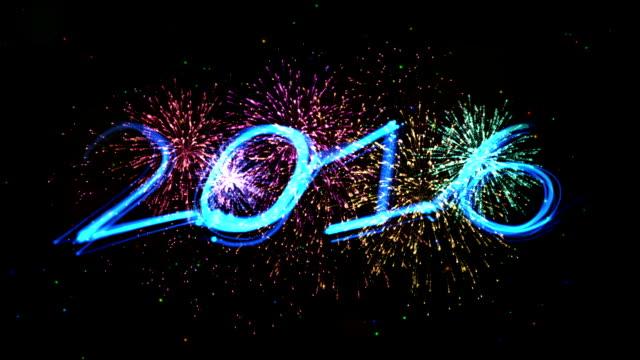 celebration new year 2016