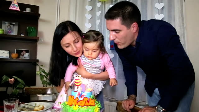 vidéos et rushes de célébration du premier anniversaire - anniversaire d'un évènement