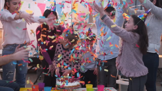 celebrations are fun - birthday stock videos & royalty-free footage
