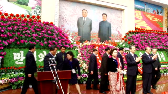 celebrations for the late former leader's birthday are underway in north korea's capital pyongyang as numerous art and sports events are also held.... - 14 15 years stock videos & royalty-free footage