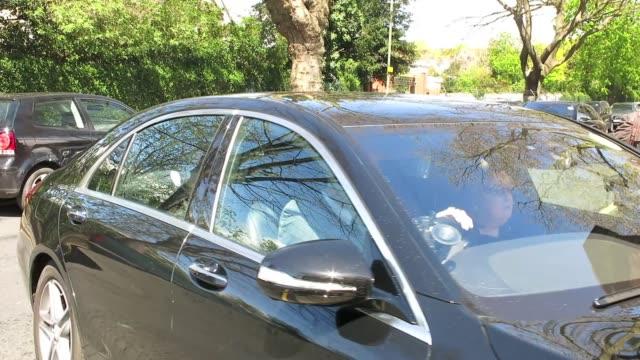 vídeos y material grabado en eventos de stock de celebrities attend david gest's funeral at golders green crematorium on april 22 2016 in london england - golders green