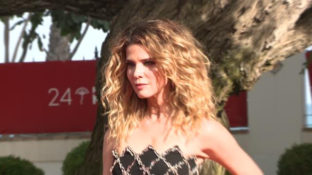 celebrities attend 'garcia y garcia' premiere during the 24th malaga film festival at the miramar hotel. - celeb stock videos & royalty-free footage
