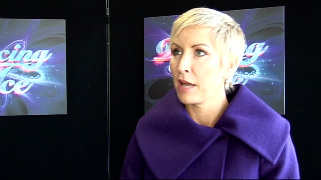Celebrities interviewed at launch of 'Dancing On Ice' television series Heather Mills interview SOT All the challenges she's faced this is the most...