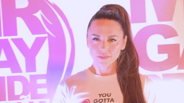 celebrity attends 'mr gay pride españa' photocall in madrid - spice girls stock-videos und b-roll-filmmaterial