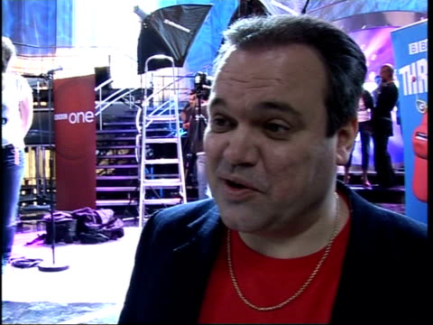 'celebrity fame academy' contestants' interviews england london county hall int shaun williamson interview sot on performing for 'comic relief does... - イーストエンダーズ点の映像素材/bロール