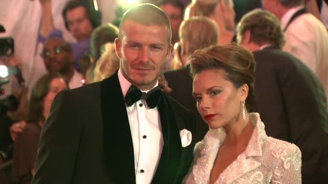 david and victoria beckham - profile produced segment stock videos & royalty-free footage