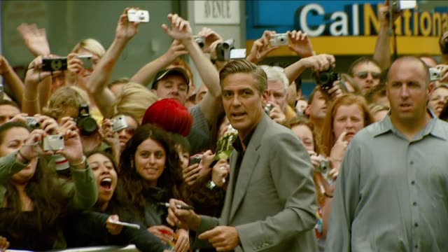 george clooney - profile produced segment stock videos & royalty-free footage