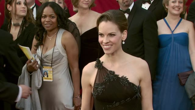 hilary swank - profile produced segment stock videos & royalty-free footage