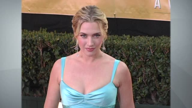 kate winslet - profile produced segment stock videos & royalty-free footage