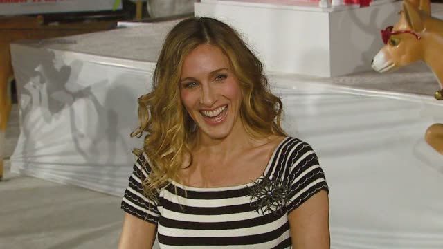 sarah jessica parker - profile stock videos & royalty-free footage