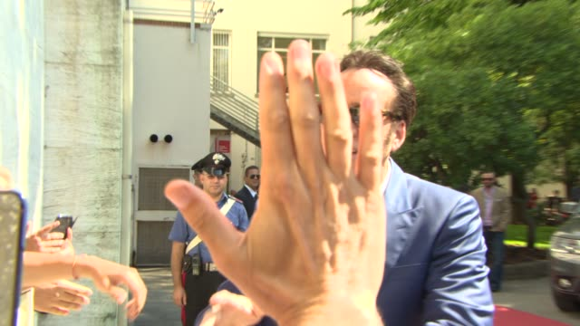 celebrity sightings - venice film festival day 03 on august 30, 2013 in venice, italy - nicolas cage stock videos & royalty-free footage