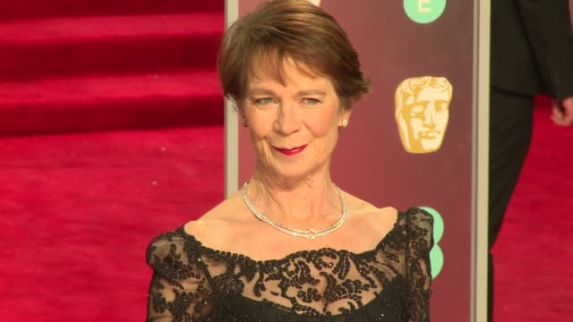 Celia Imrie at Royal Albert Hall on February 18 2018 in London England