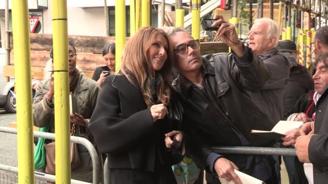celine dion at celebrity video sightings on november 05 2013 in london england - 2013 bildbanksvideor och videomaterial från bakom kulisserna