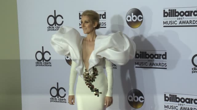 celine dion at the 2017 billboard music awards press room at tmobile arena on may 21 2017 in las vegas nevada - céline dion stock videos & royalty-free footage