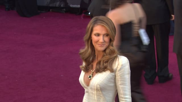 celine dion at the 83rd annual academy awards arrivals part 2 at hollywood ca - céline dion stock videos & royalty-free footage