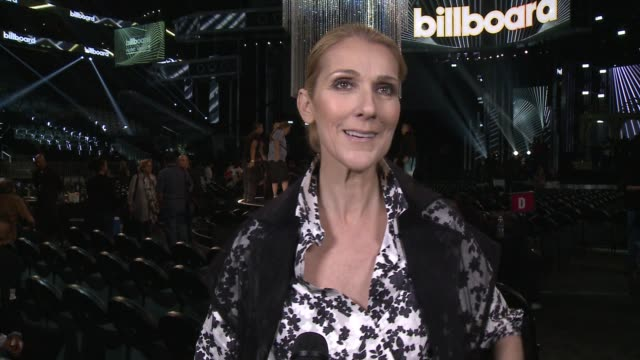 interview celine dion on how it feels to be returning to the billboard stage and how the meaning of 'my heart will go on' has changed for her over... - céline dion stock videos & royalty-free footage