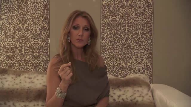 celine dion sings chestnuts roasting in an open fire to a burda media reporter at the 2012 bambi awards celine dion sings christmas song on november... - céline dion stock videos & royalty-free footage