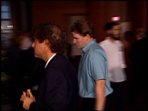 cell phone at the 'original sin' premiere at dga theater in los angeles california on july 31 2001 - dga theater stock videos & royalty-free footage