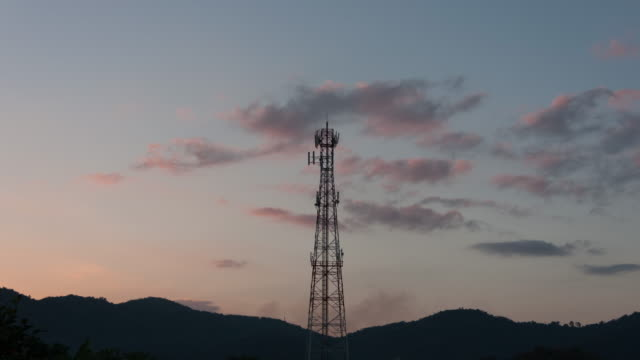 cell phone tower - repeater tower stock videos and b-roll footage
