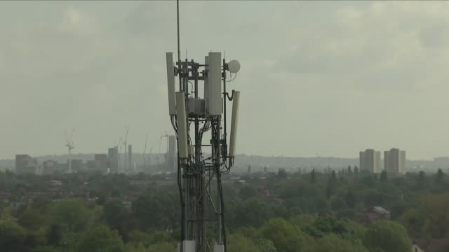 4g cell tower - mast stock videos & royalty-free footage