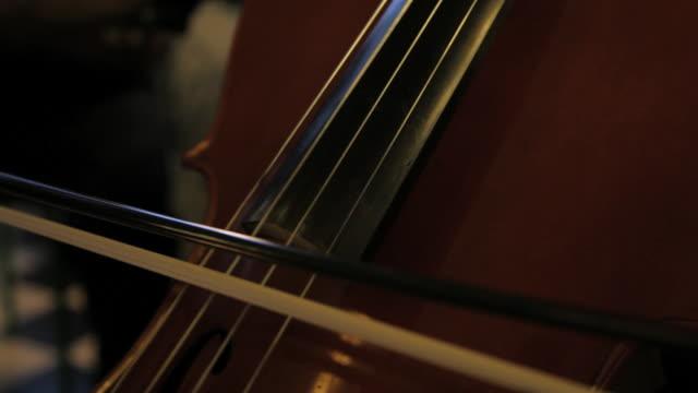 vidéos et rushes de c/u cello player - violoncelle