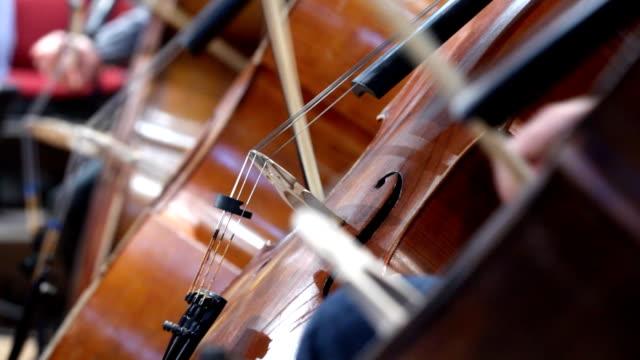 vidéos et rushes de violoncello joueur - violoncelle