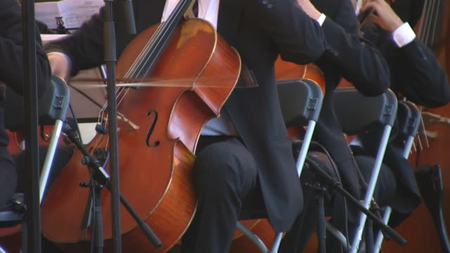 cello (hd) - five people stock videos and b-roll footage