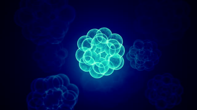 t cells or virus background - deformed stock videos & royalty-free footage