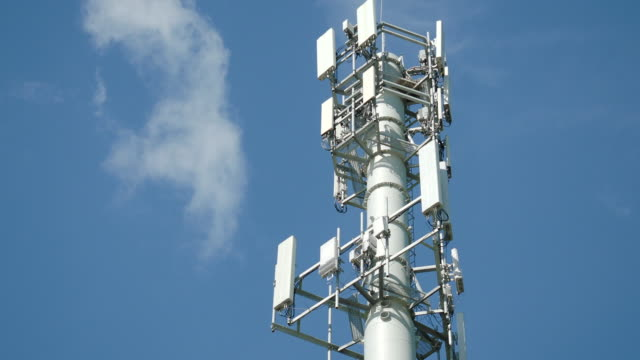 cellular telecom tower - wireless technology stock videos & royalty-free footage