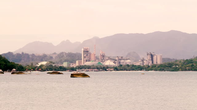 cement factory - langkawi stock videos and b-roll footage