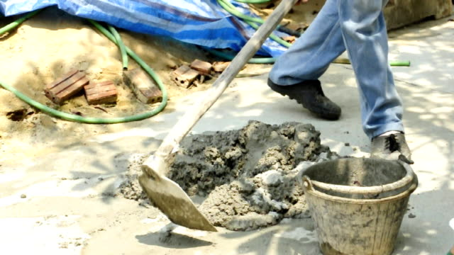 vídeos y material grabado en eventos de stock de mezclador de cemento. - cement mixer