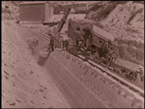 cement quarry - 3 of 16 - see other clips from this shoot 2324 stock videos and b-roll footage