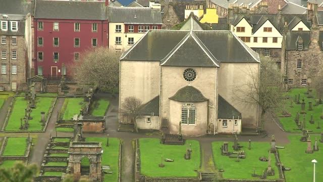 cemetery in edinburgh - tomb stock videos & royalty-free footage