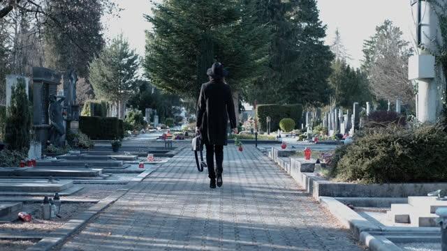 墓地 - 墓石点の映像素材/bロール