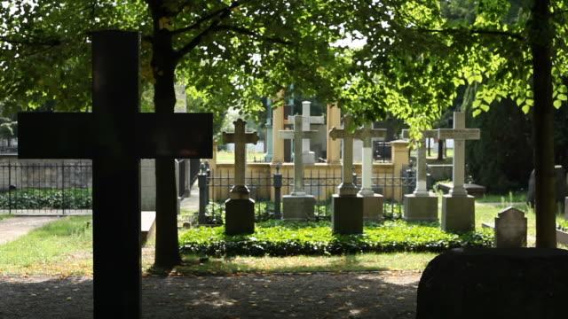 stockvideo's en b-roll-footage met cemetery - wiese