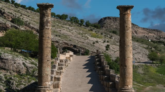 cendere or severan bridge - anatolia - arch stock videos & royalty-free footage