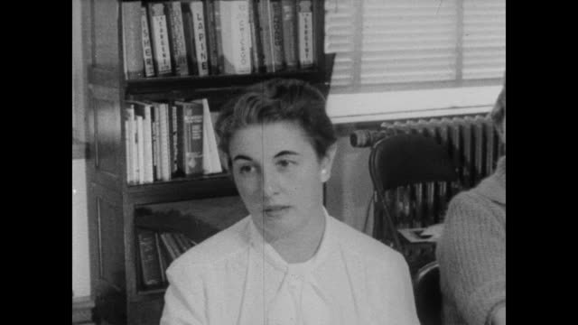 1960 census takers at a meeting at the census bureau - census stock videos & royalty-free footage
