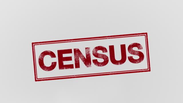 国勢 調査 - 国勢調査点の映像素材/bロール