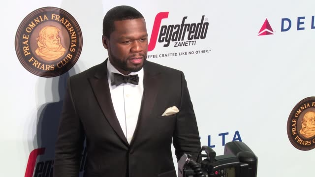 50 cent at friars club honors martin scorsese with entertainment icon award at cipriani wall street on september 21 2016 in new york city - cipriani wall street stock videos & royalty-free footage