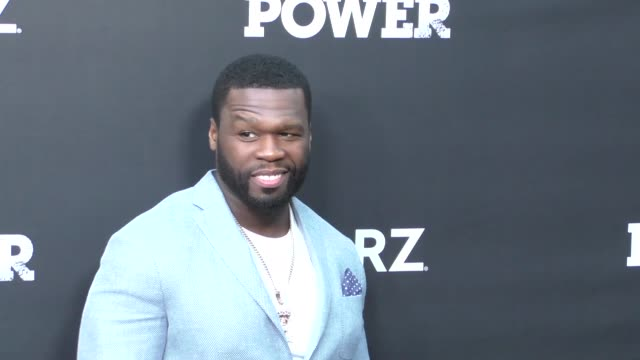 50 cent at the for your consideration event for starzs' power at arclight theatre in hollywood in celebrity sightings in los angeles - fifty cent coin stock videos and b-roll footage