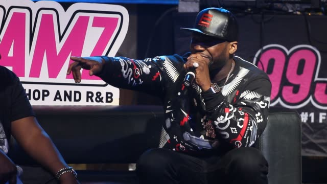 50 cent performs at 99 jamz uncensored - fifty cent coin stock videos and b-roll footage