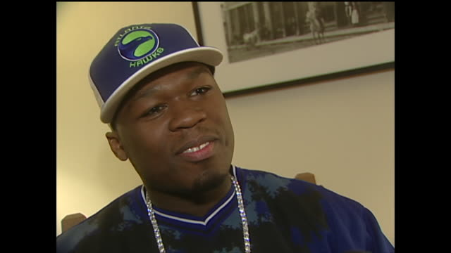 stockvideo's en b-roll-footage met 50 cent talks about his relationship with his son - 50 cent rapper
