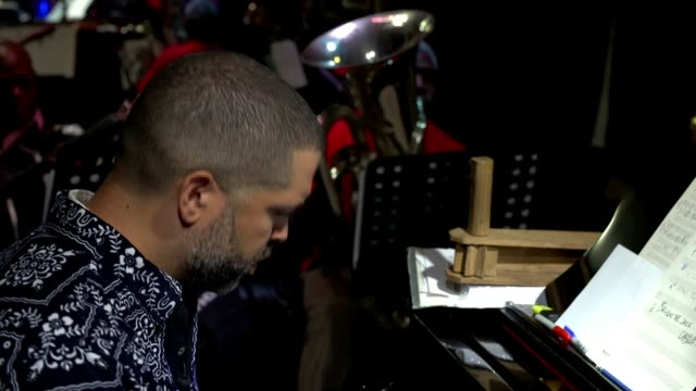 Jazz pianist Jason Moran pays homage to the Harlem Hellfighters UK Jason Moran interview / Band playing music **All studio rehearsal music with Jason...