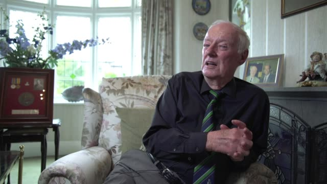 Letters from the front lines ENGLAND INT Peter Massen interview SOT Massen reading letter SOT