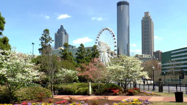 centennial olympic park - atlanta, georgia - atlanta stock videos and b-roll footage