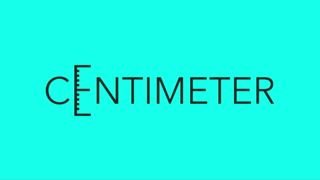 Centimeter - Vector Animate