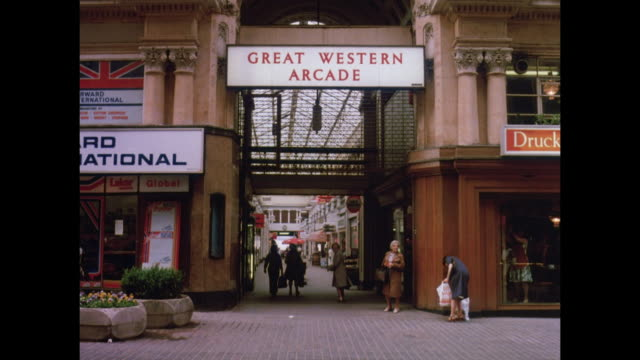 1981 - central birmingham uk - birmingham england stock videos & royalty-free footage