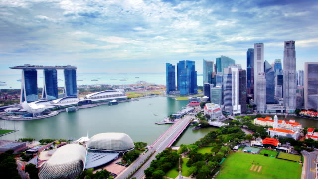 central business district, singapore city. - singapore stock videos & royalty-free footage