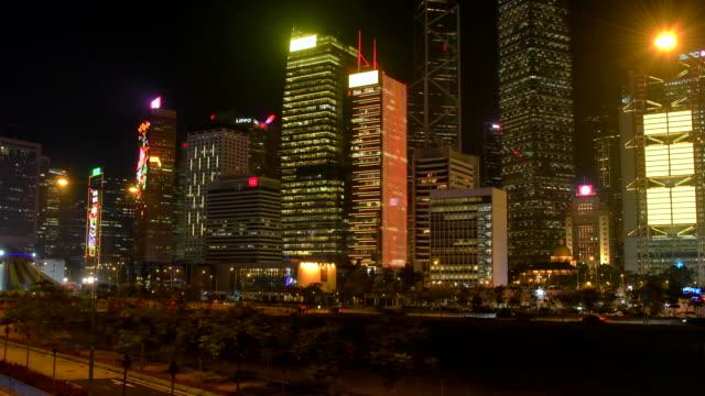 central district waterfront, hong kong - hong kong island stock videos & royalty-free footage